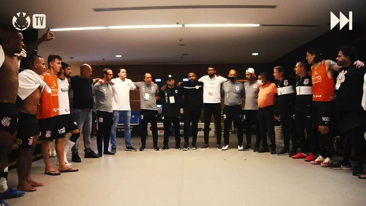 Veja os bastidores da vitória do Corinthians sobre o Bahia, pelo Brasileirão
