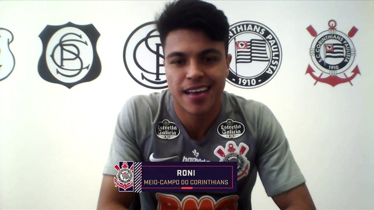 Assista à participação de Roni no Seleção SporTV