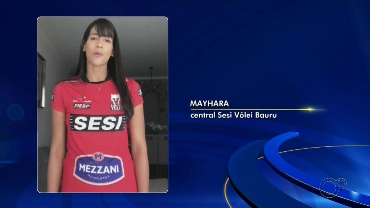 Com lesão no joelho, Mayhara desfalca o Sesi-Bauru por tempo indeterminado