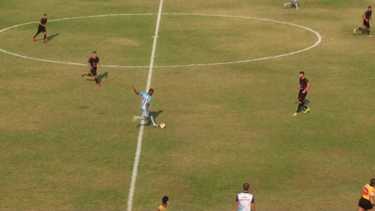 Veja os gols do Ji-Paraná sobre o Bragantino-PA