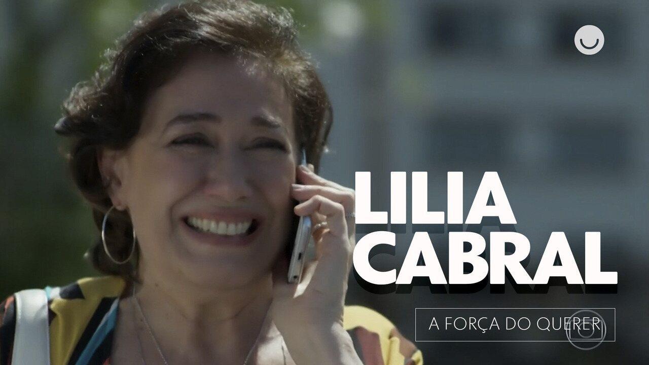 Lilia Cabral fala sobre a luta do seu personagem contra o vício em 'A Força do Querer'