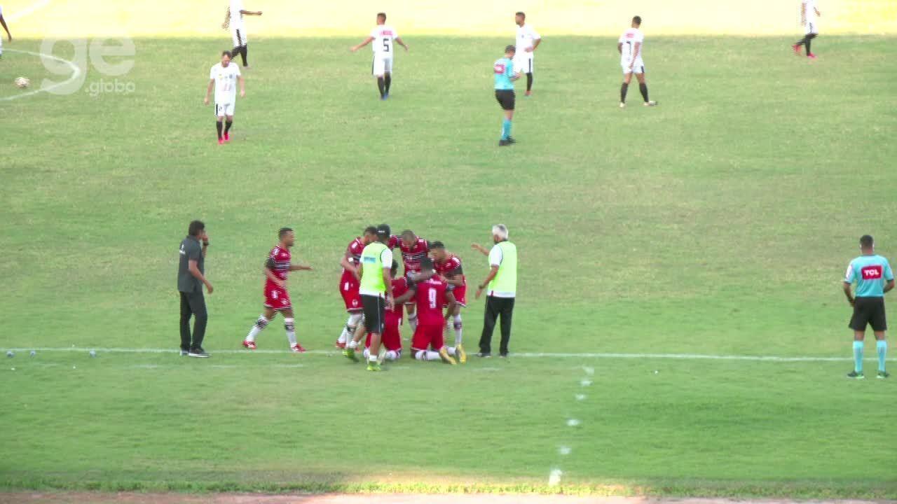 Os gols de River-PI 3 x 1 Santos-AP - Série D do Campeonato Brasileiro 2020