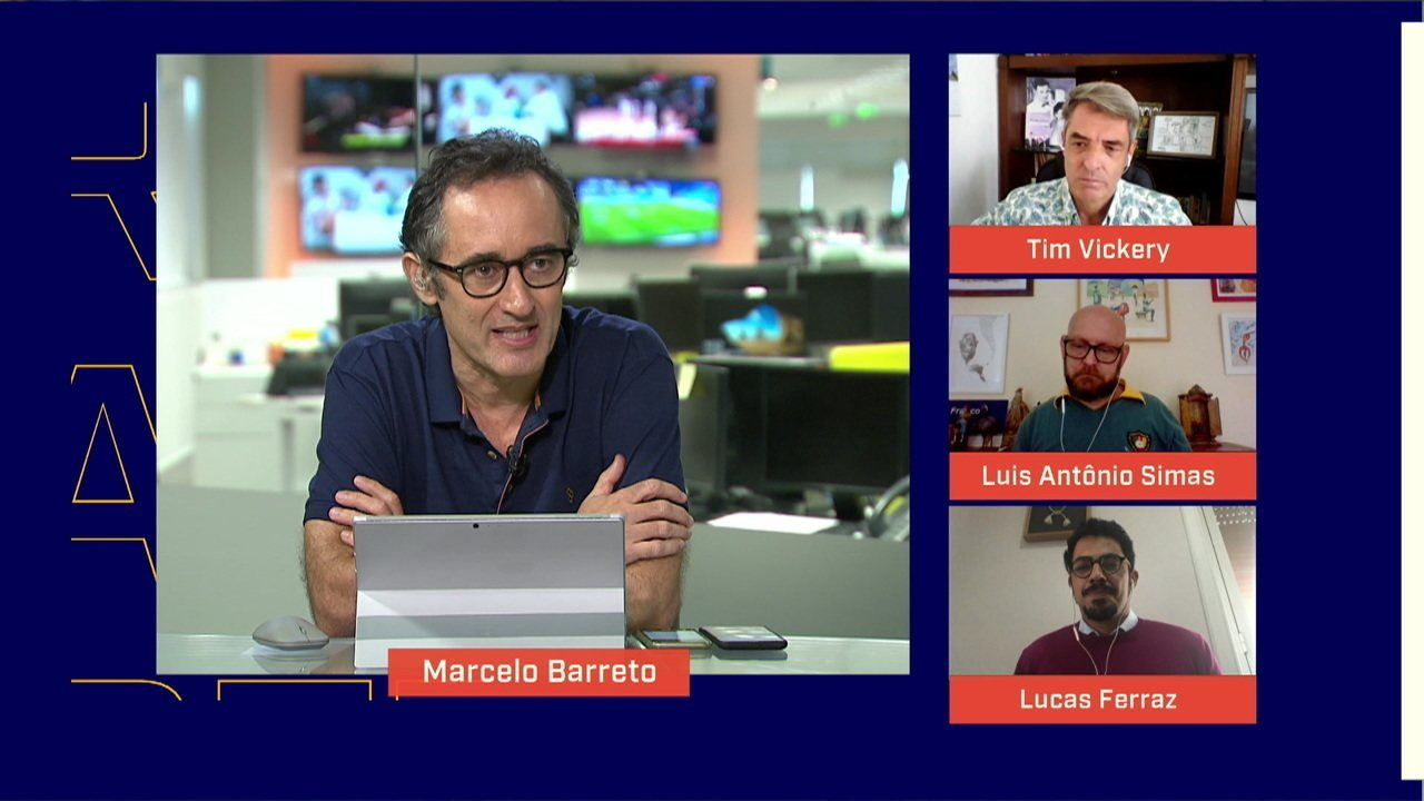 Autor da reportagem sobre condenação de Robinho fala no Redação SporTV