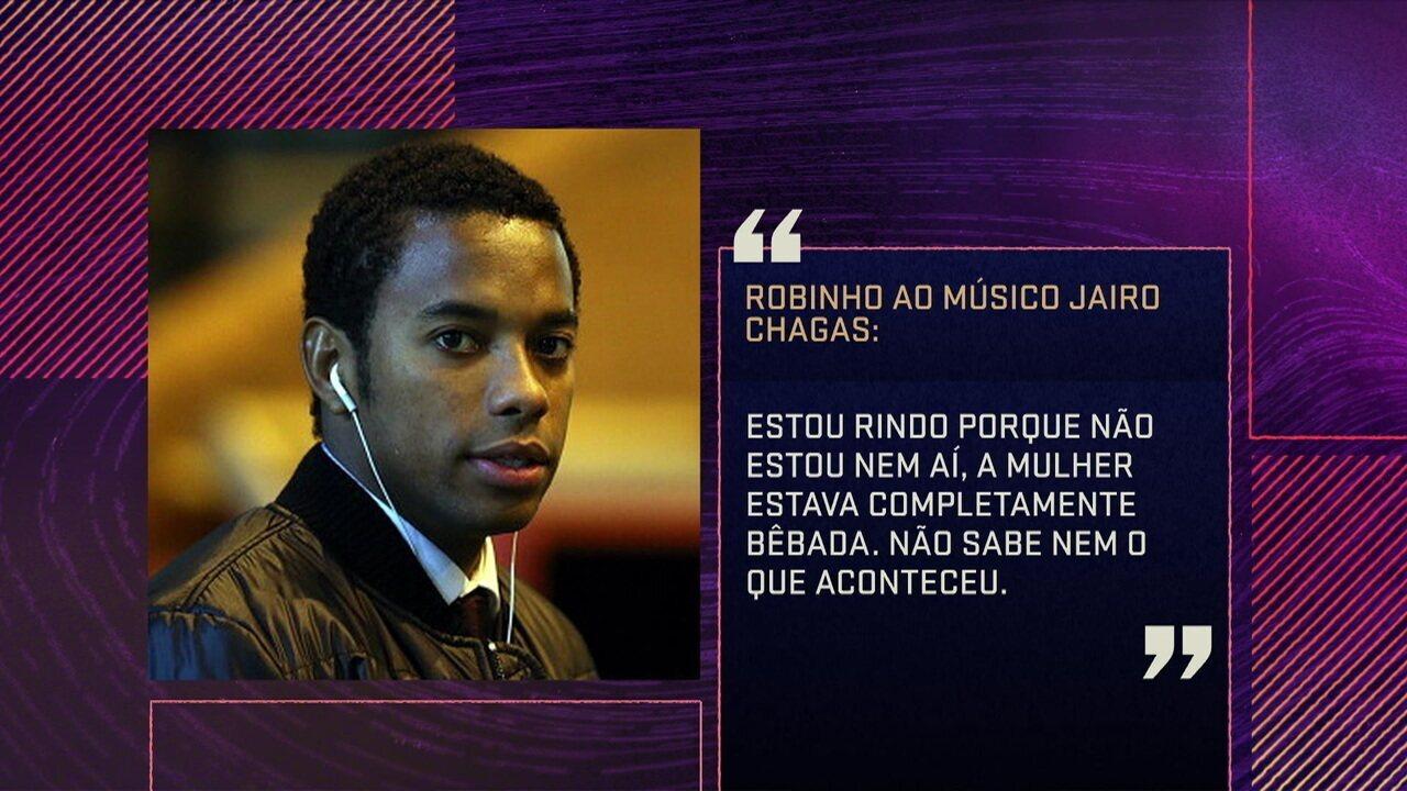 Seleção discute contratação de Robinho pelo Santos e gravações de conversas de jogador