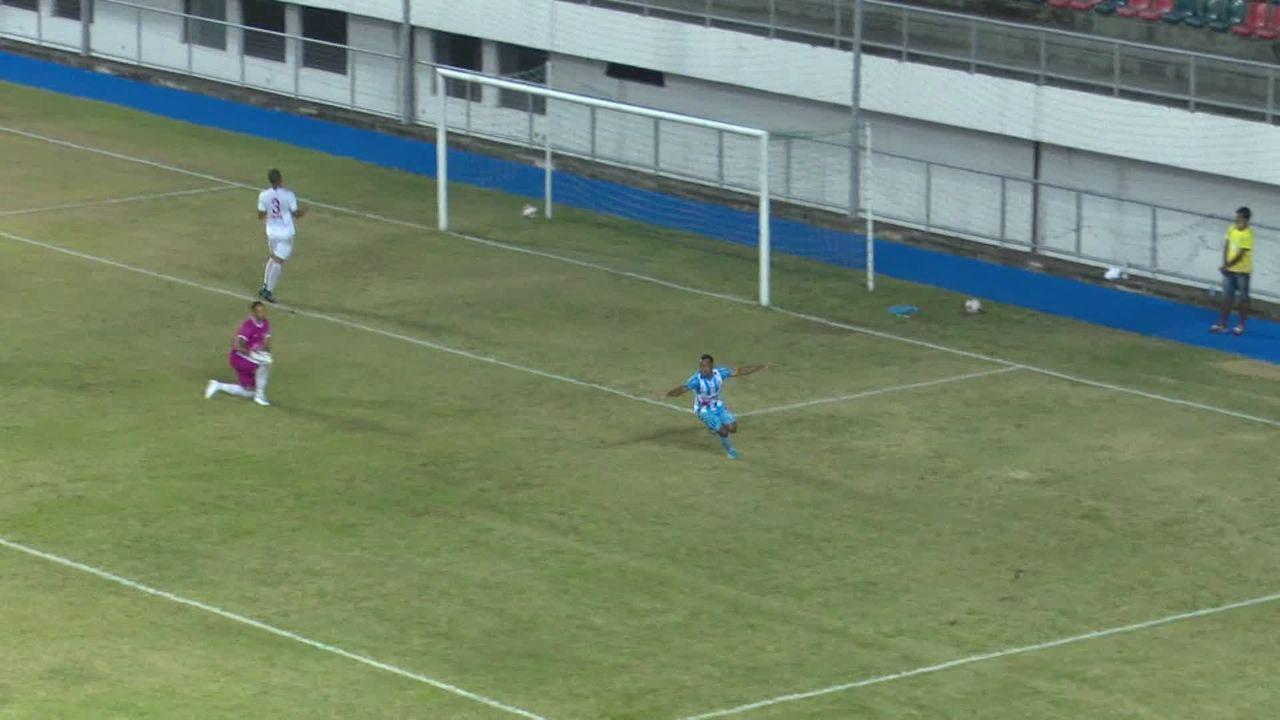 Quinto gol de Watthimen na Série D