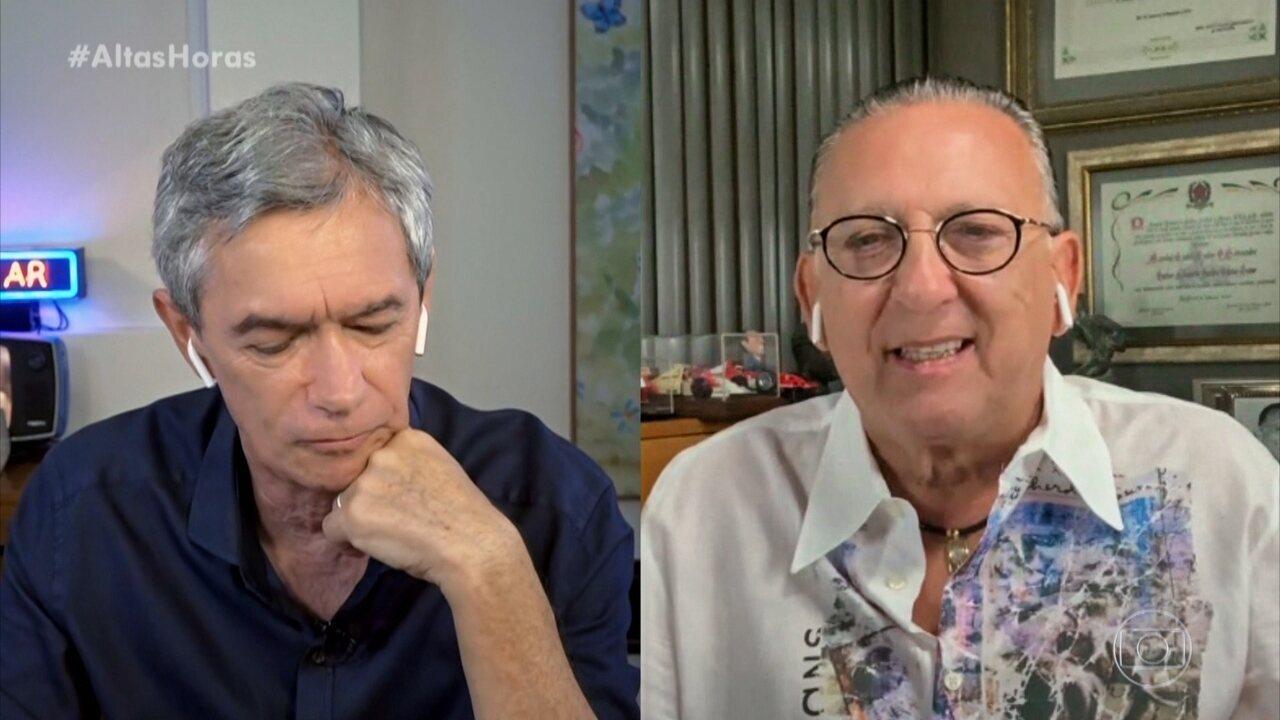 Galvão Bueno homenageia Pelé por 80 anos e revela fato inusitado da narração do Tetra