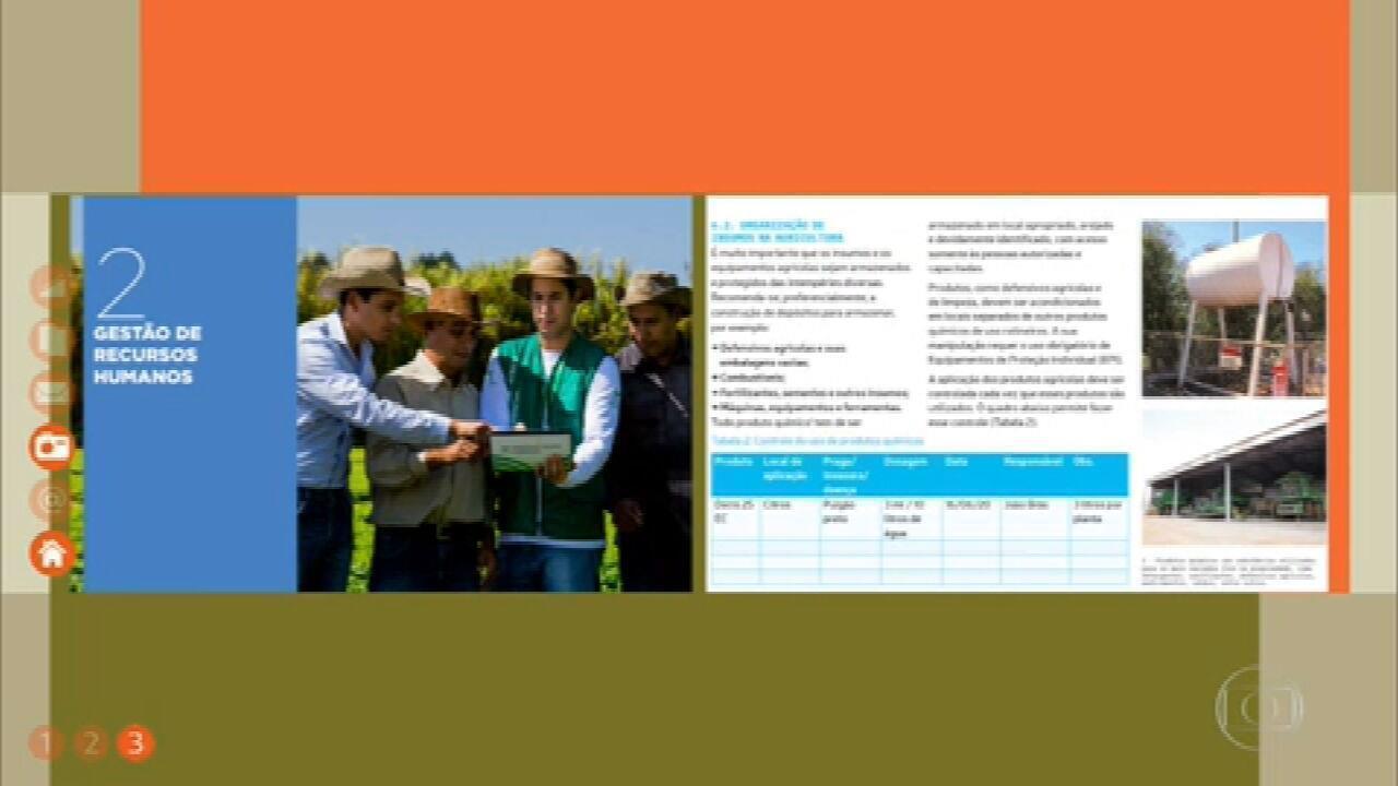 Guia on-line do Senar ensina produtores rurais a organizar a propriedade