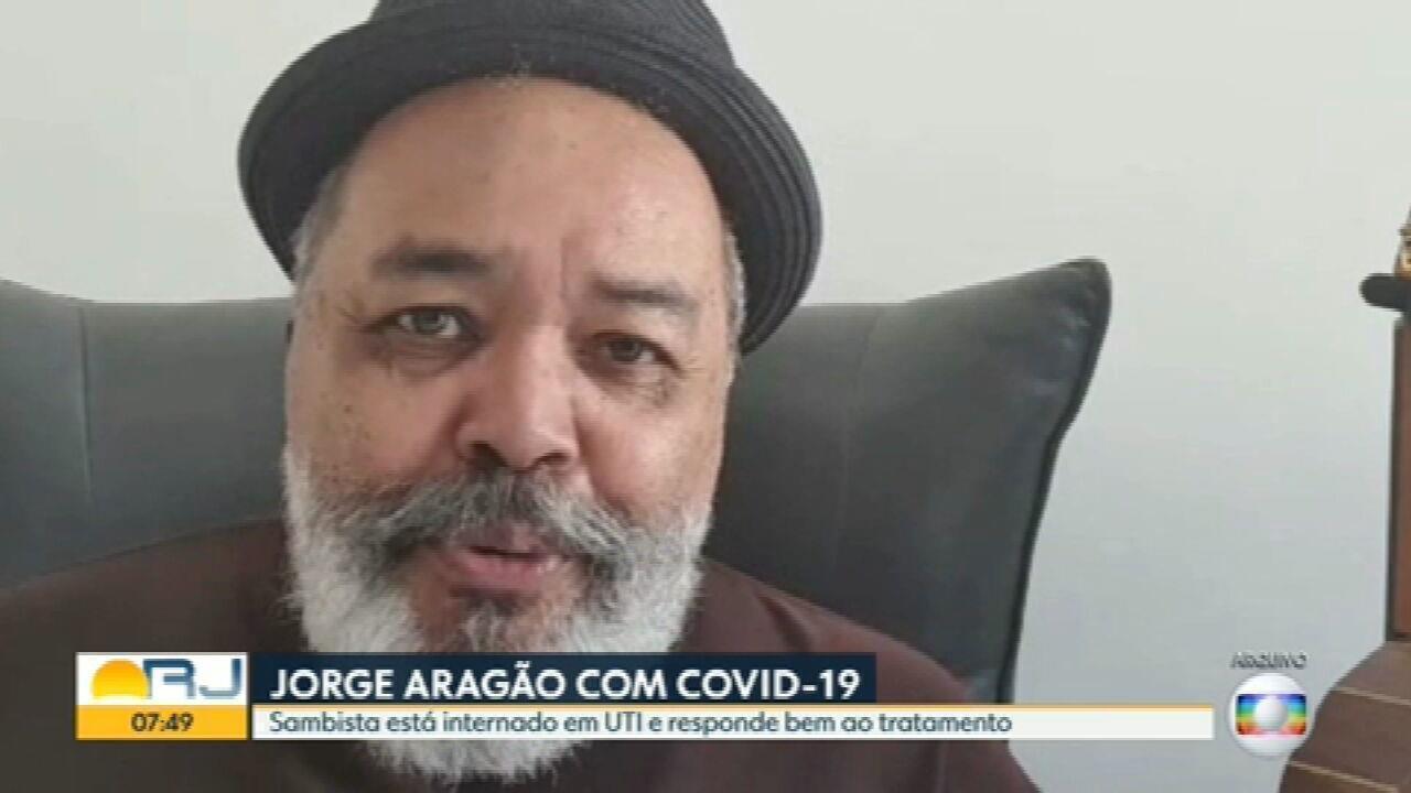 Cantor Jorge Aragão está internado com Covid-19