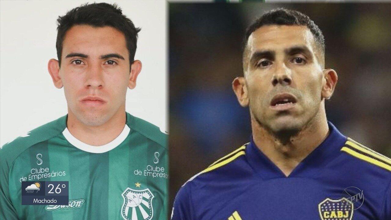 Conheça Tevez, o hermano 'genérico' que deu a vitória para a Caldense contra o Palmas