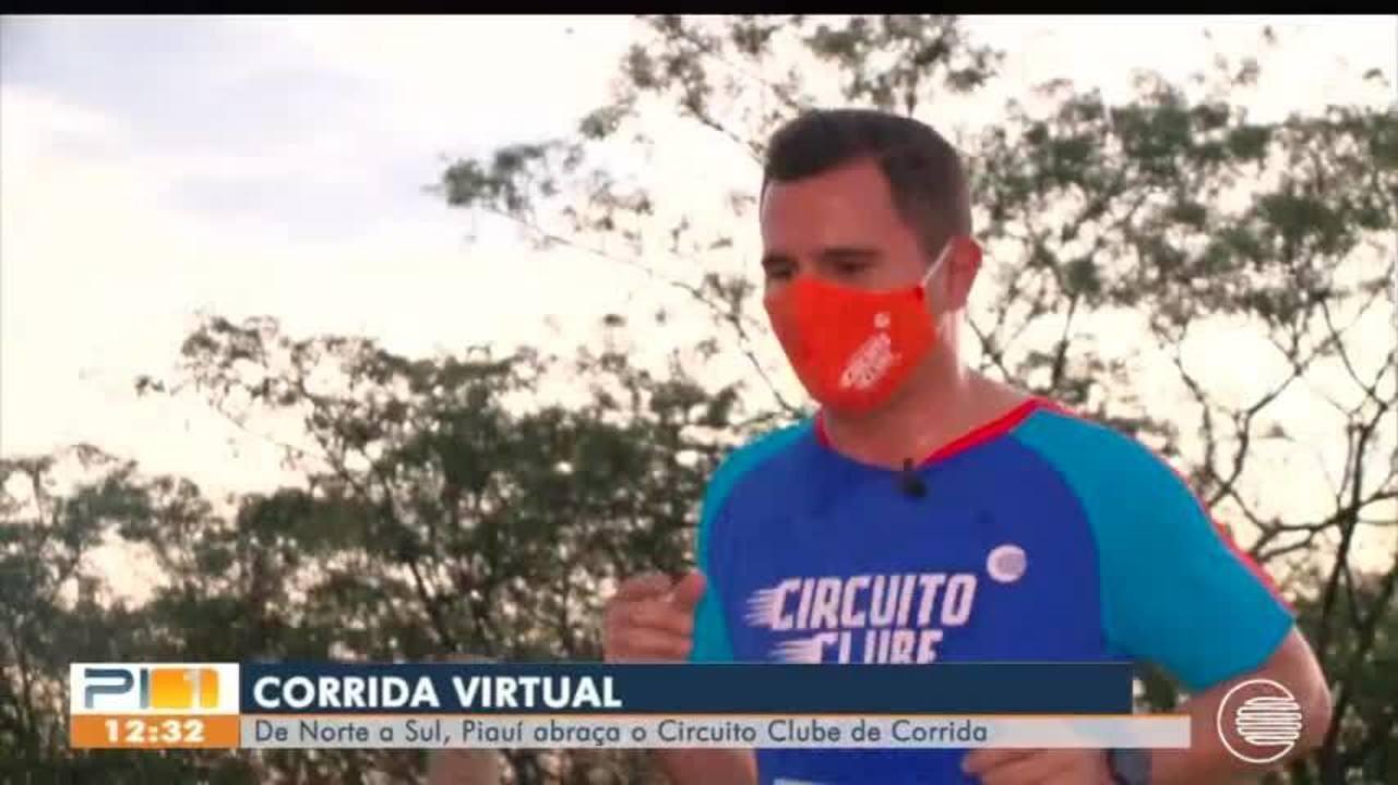 Competidores de todo o estado disputam o Circuito Clube Corrida Virtual