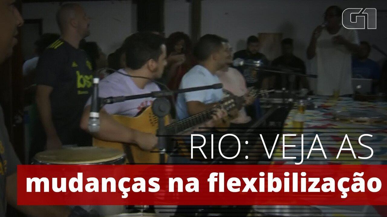 Entenda o que o decreto muda na flexibilização de bares e quadras de samba no Rio