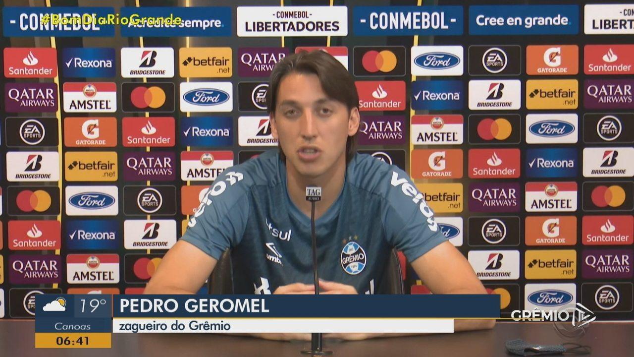Geromel fala sobre o jogo contra o América de Cali pela Libertadores