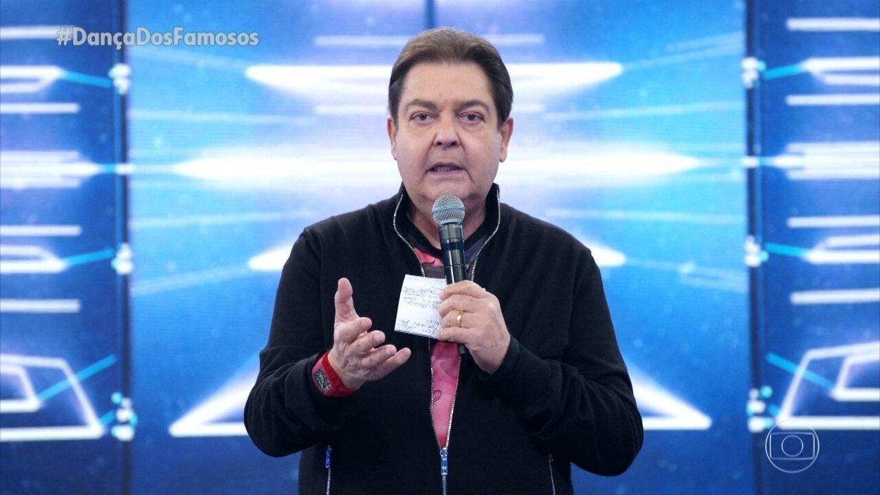 Faustão fala sobre operação de Juliano Laham