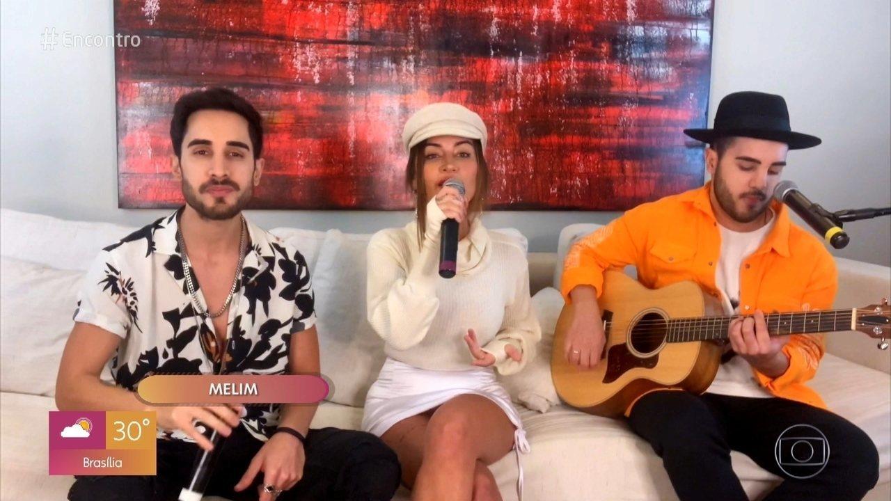 Melim canta 'Amores e Flores'