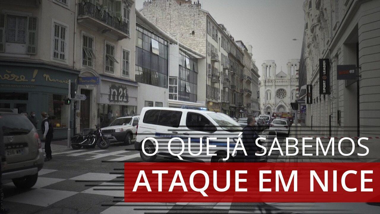 O que já sabemos sobre o ataque a faca em Nice