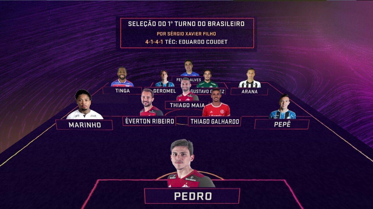 Comentaristas elegem a seleção do primeiro turno do Brasileirão