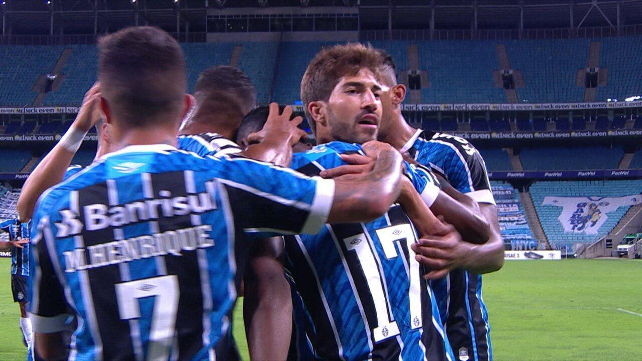 Veja gol de Orejuela pelo Grêmio