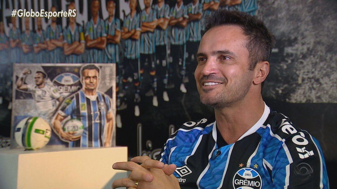 Falcão deixa aposentadoria e quer deixar dinastia no futebol 7 com o Grêmio