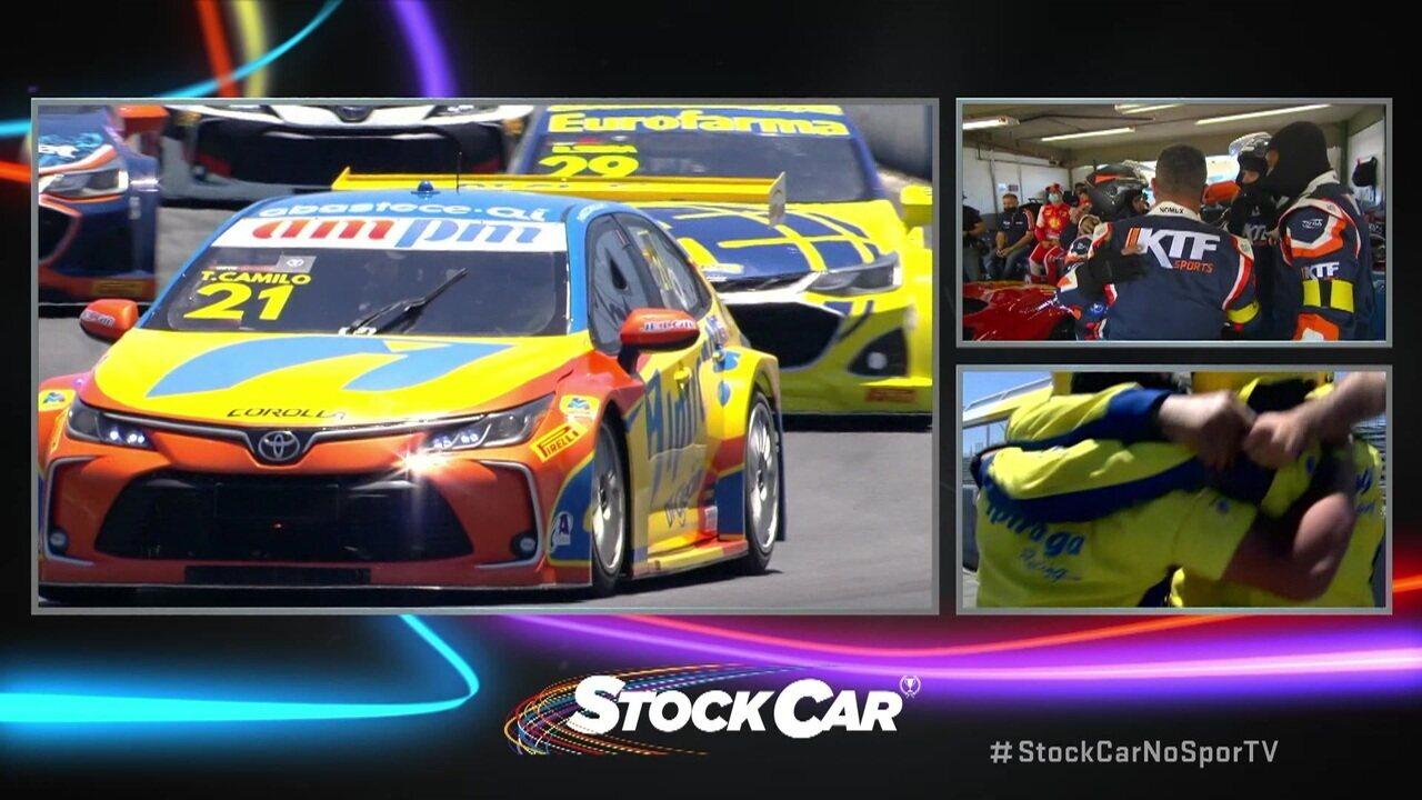 Thiago Camilo vence a oitava etapa da Stock Car em Curitiba