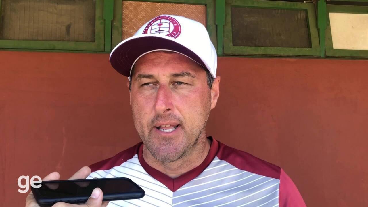Eduardo Luersen reconhece que o Serra também teve qualidades na derrota para a Desportiva