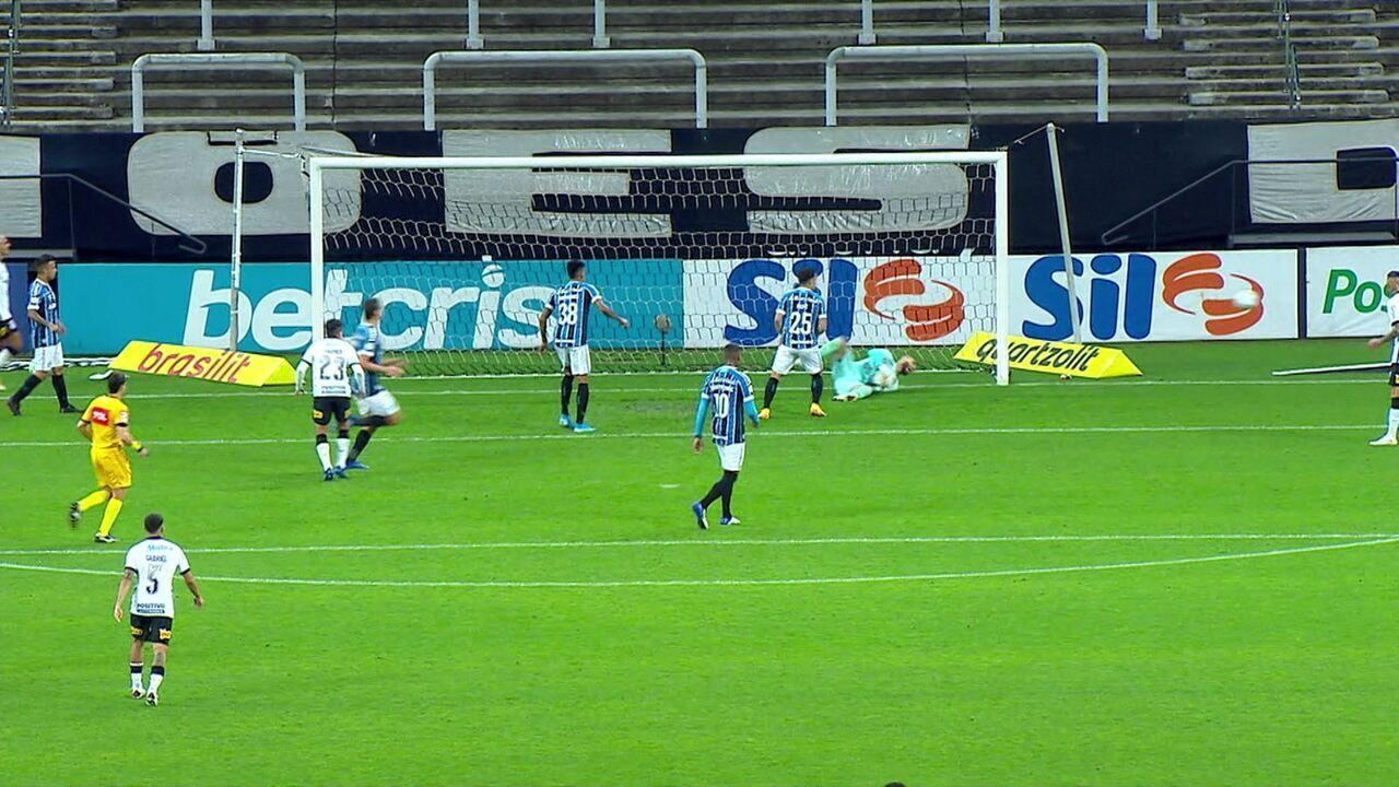 Melhores momentos: Corinthians 0 x 0 Grêmio pela 22ª rodada do Campeonato Brasileiro