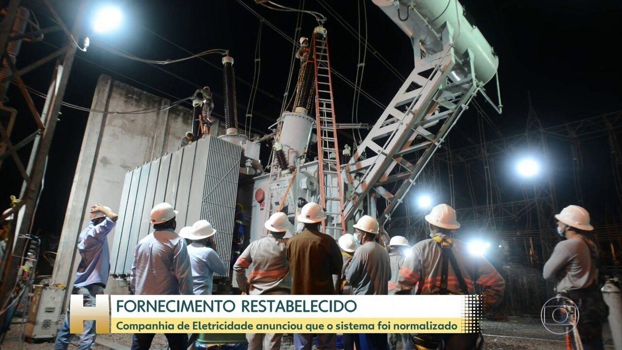 Após 22 dias de apagão no Amapá, distribuidora diz que energia foi retomada em 100%