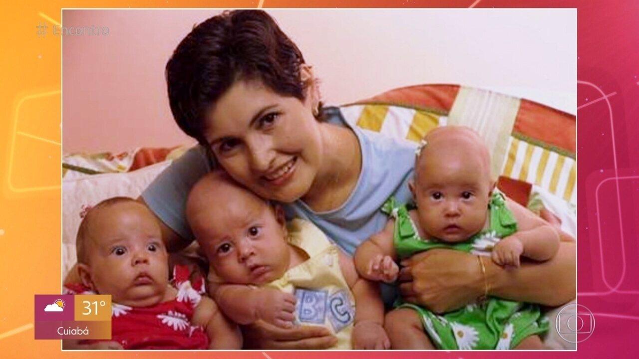 Trigêmeos de Fátima Bernardes: apresentadora teve filhos prematuros