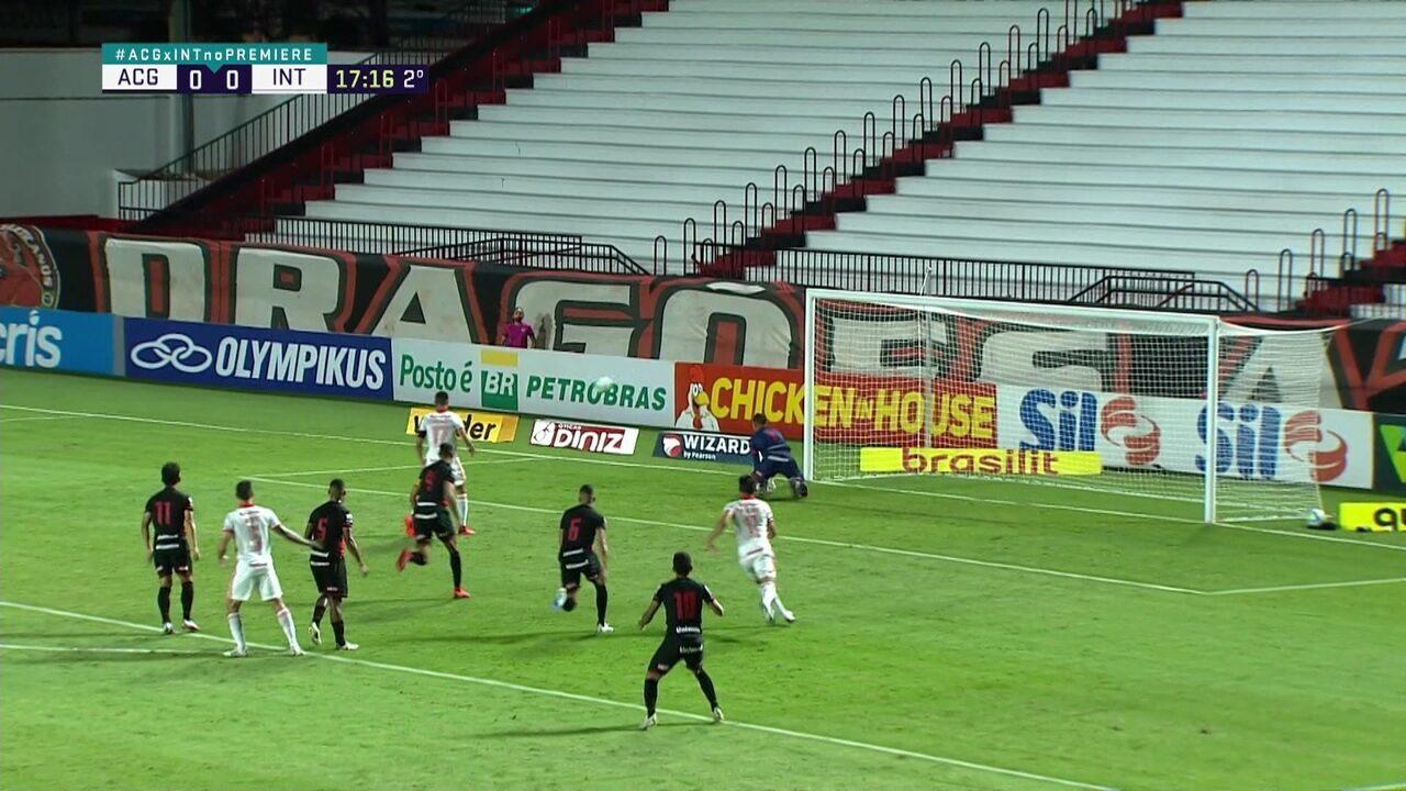 Melhores momentos de Atlético-GO 0 x 0 Internacional pela 23ª rodada do Campeonato Brasileiro