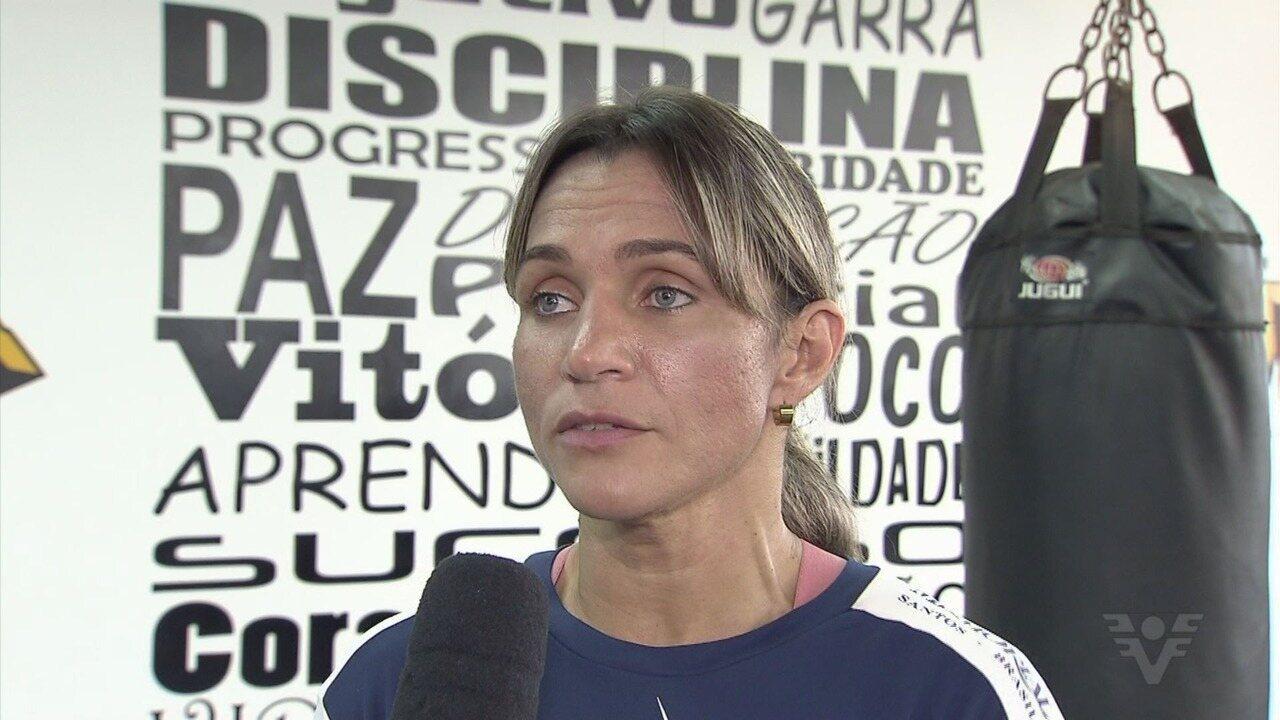 Primeira pugilista brasileira a ser campeã do mundo, Rose Volante volta aos ringues