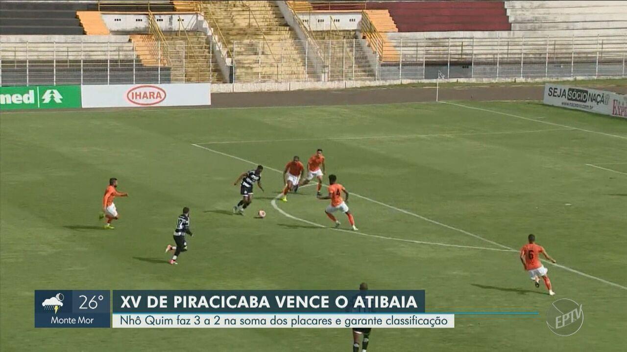 XV de Piracicaba vence o Atibaia e avança para as quartas de final da Copa Paulista