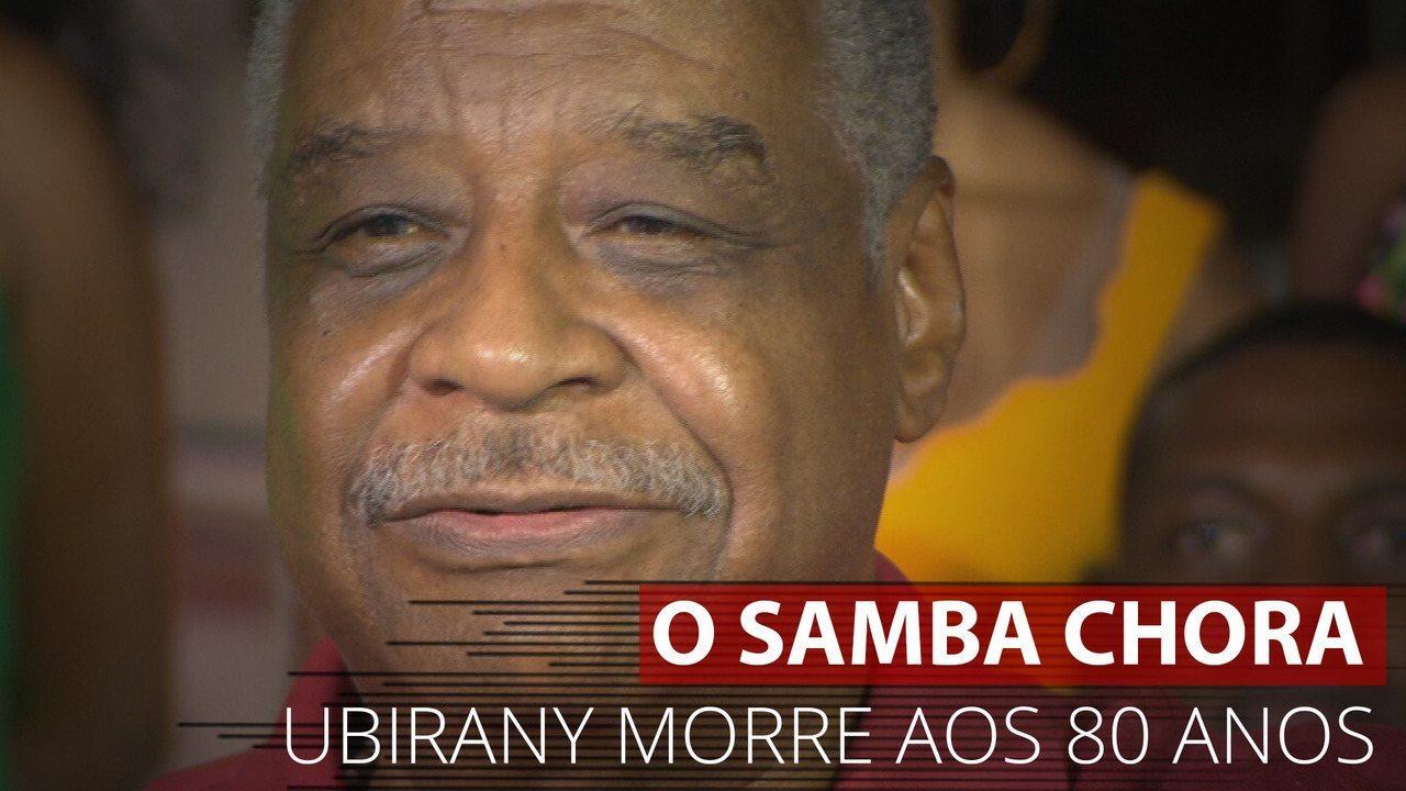 Ubirany, um dos líderes do Fundo de Quintal, introduziu o repique de mão no samba