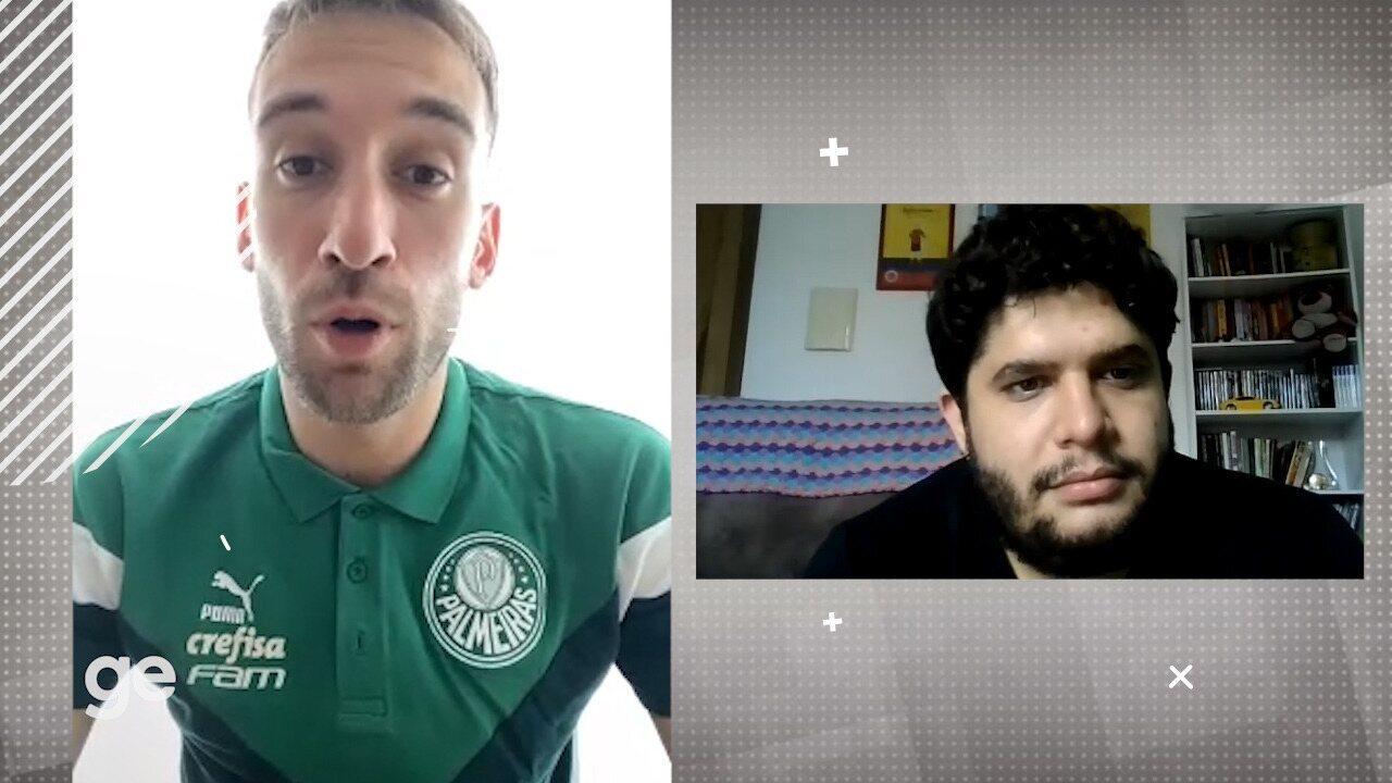 Empereur fala sobre base na Itália, chegada ao Palmeiras e relação com Abel Ferreira