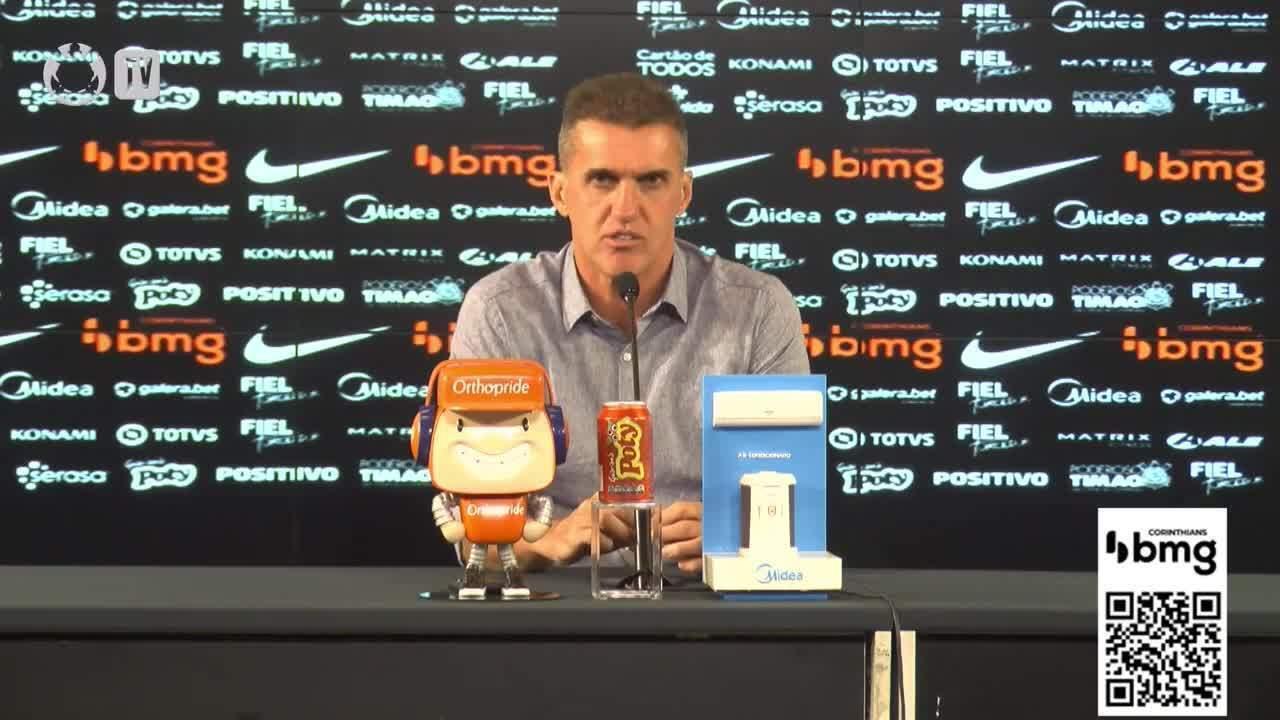 Vagner Mancini fala após vitória do Corinthians no clássico contra o São Paulo