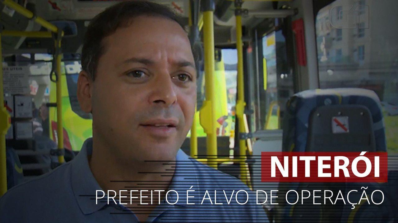VÍDEO: PF cumpre mandados no apartamento do prefeito de Niterói, Rodrigo Neves