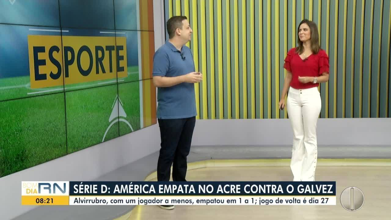 Veja o desempenho de América e Globo na série D