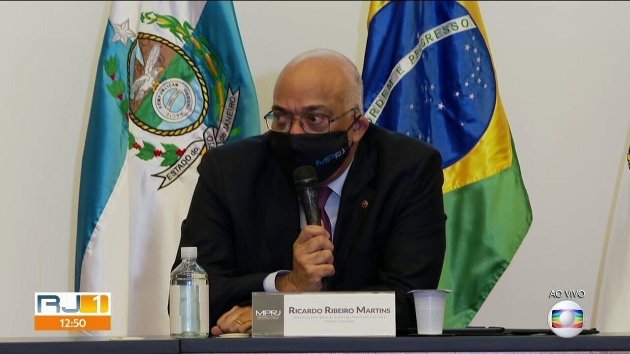 Valor arrecadado em propina por organização criminosa chega a R$ 50 milhões, diz MPRJ