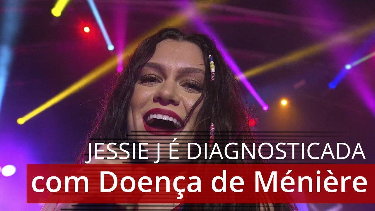 Jessie J é diagnosticada com Doença de Ménière