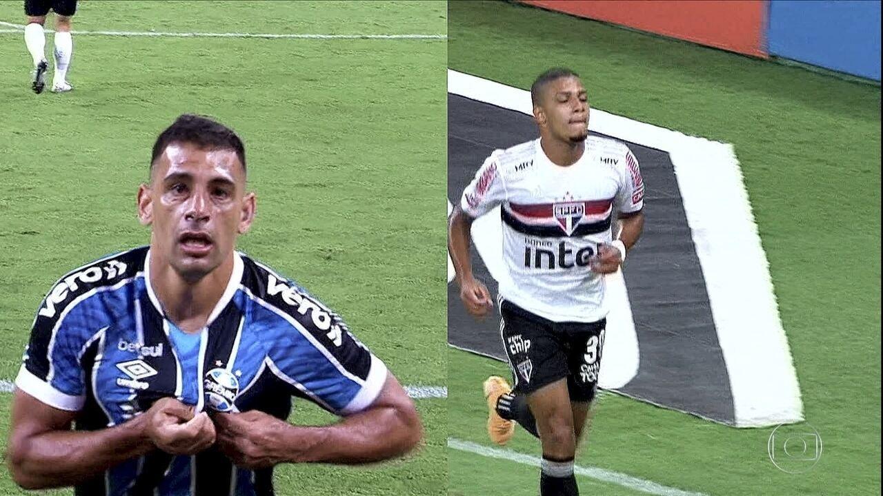 Brenner e Diego Souza: dois tricolores e um destino