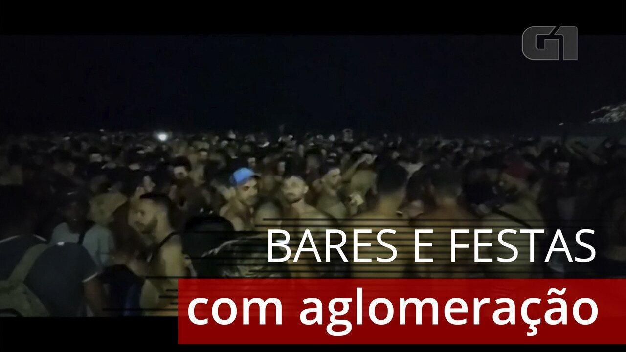 Polícia é chamada para dissipar festas em Santa Teresa e nas areias de Ipanema