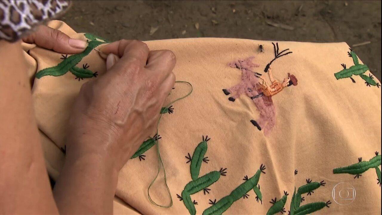 Bordado, tecelagem e poesia: projetos resgatam tradições de comunidades rurais de MG
