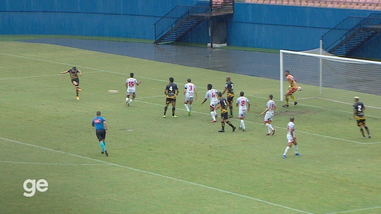 Veja o gol de Fast 0 x 1 Novorizontino-SP, pelas quartas de final da Série D