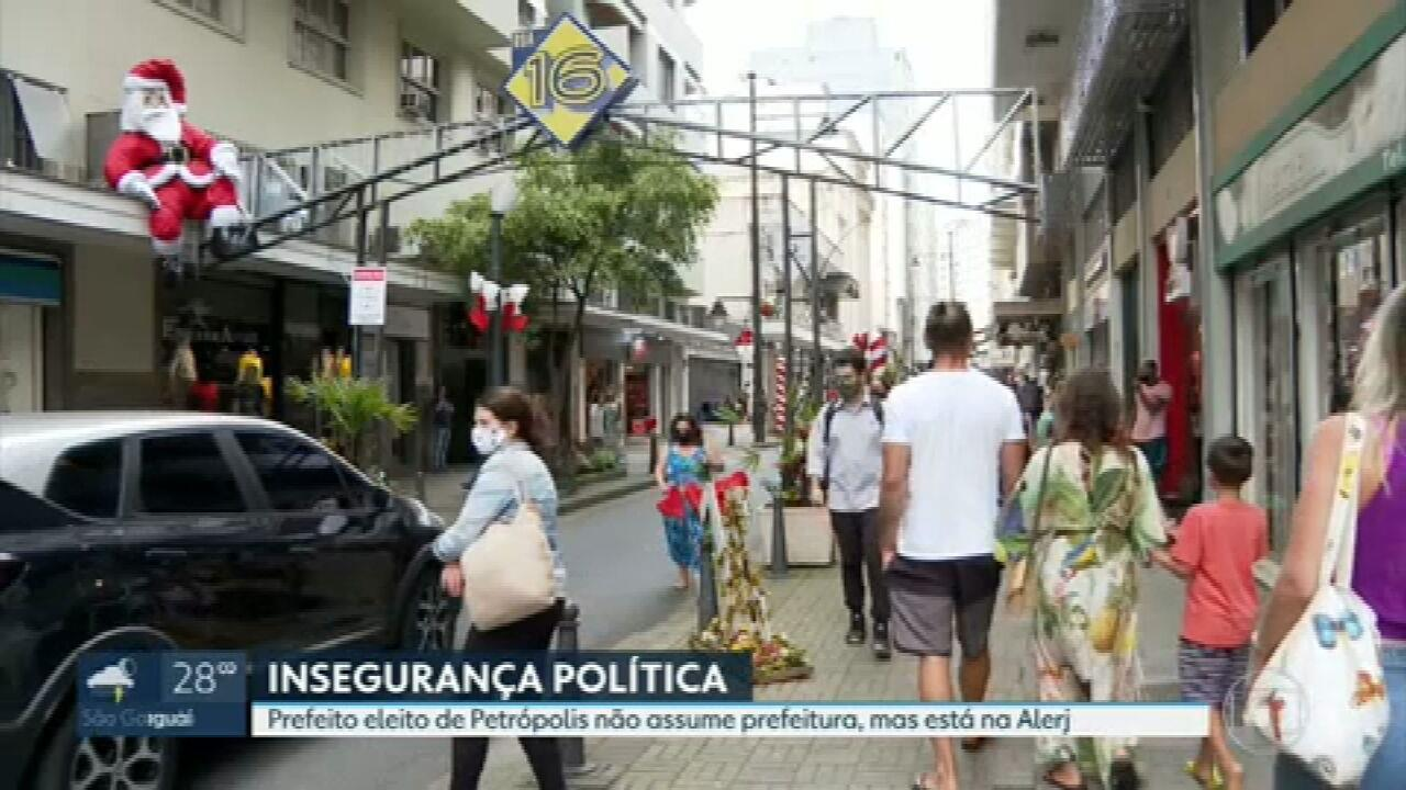 Mais votado em Petrópolis não assume a prefeitura por ser 'ficha suja', mas está na Alerj
