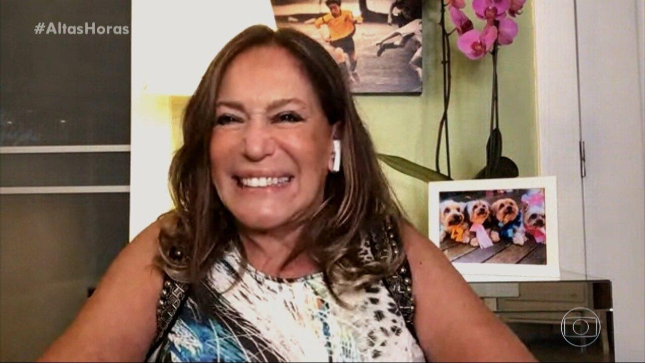 Serginho conversa com Suzana Vieira