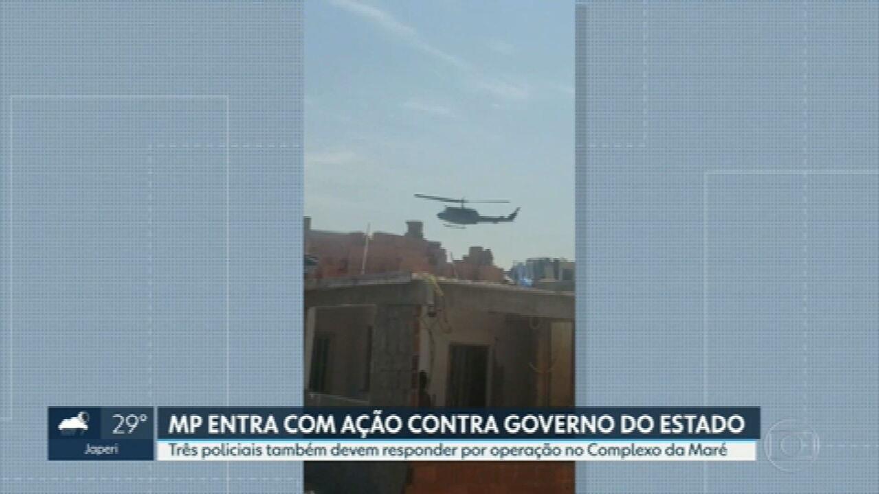Ministério Público entra na Justiça contra governo do estado por operação na Maré