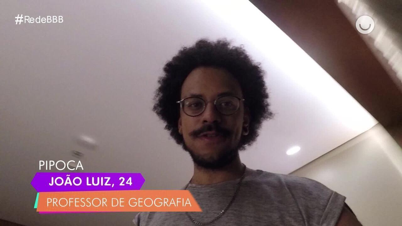 Confira o diário de confinamento de João Luiz