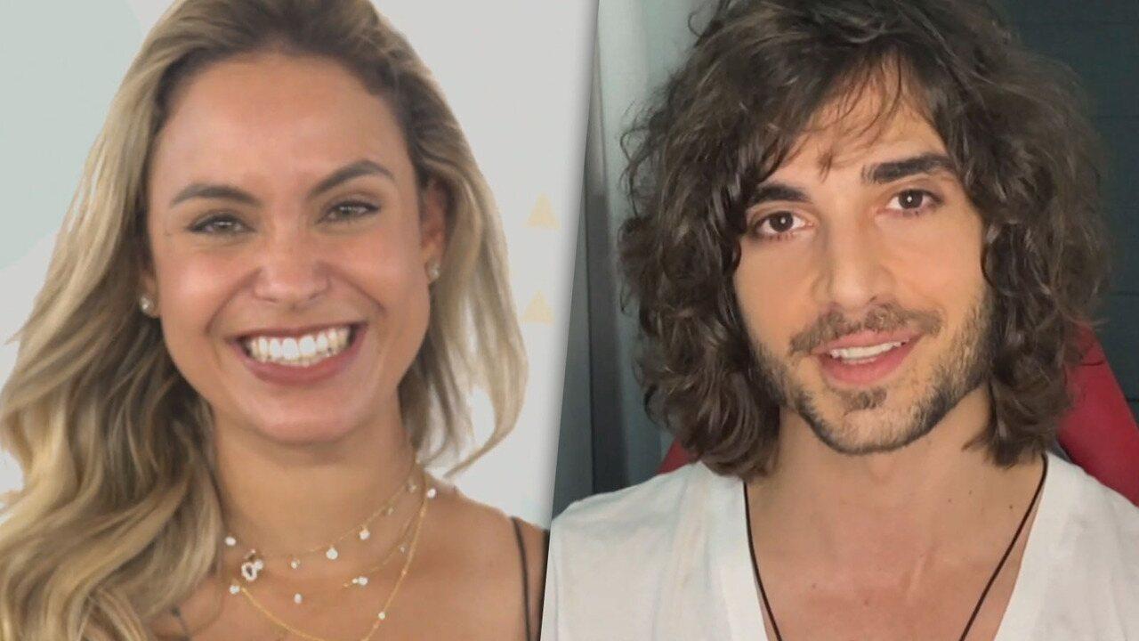 Conheça Sarah e Fiuk, participantes do 'BBB21'