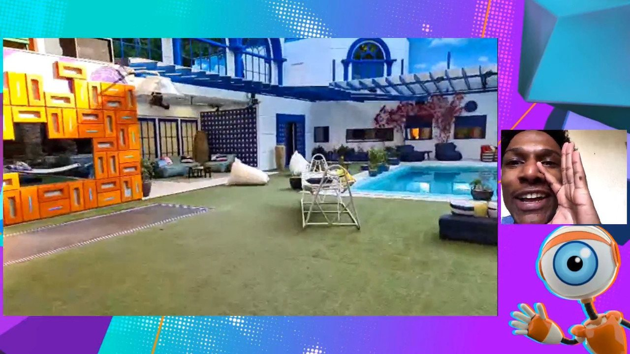 BBB Experience: Rhudson Victor conhece a casa do BBB21