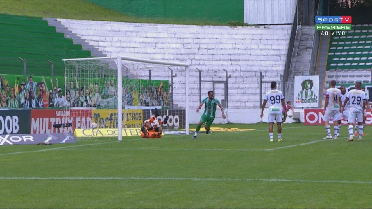 Os gols de Juventude 2 x 1 Figueirense, pela 37ª rodada do Brasileirão Série B