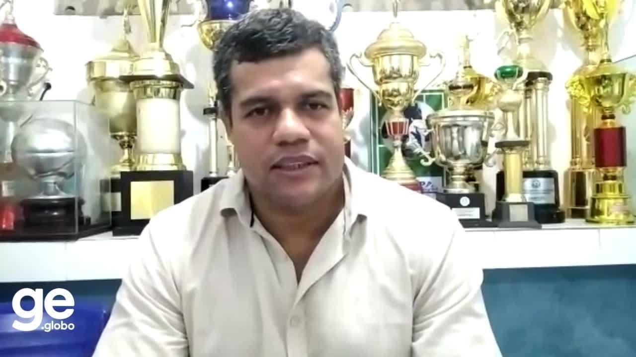 Novo técnico do Parnahyba, Dejair Ferreira chega ao clube para apresentação de elenco