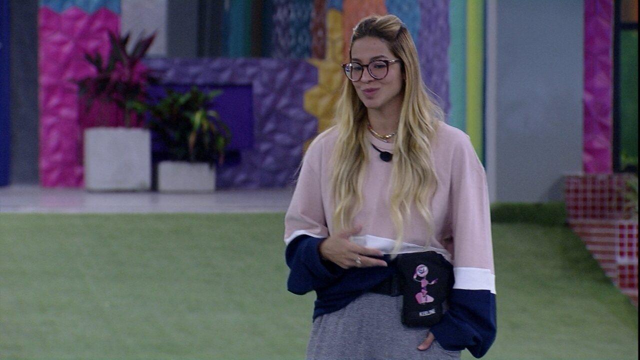 Kerline fala com Caio sobre expectativa para a Xepa: 'Me sinto preparada'